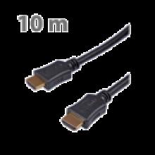 ΚΑΛΩΔΙΟ HDMI ΣΕ HDMI 10.0m ΜΑΥΡΟ EDISION
