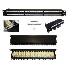PATCH PANEL CAT6 UTP 24Θ CENTRAL