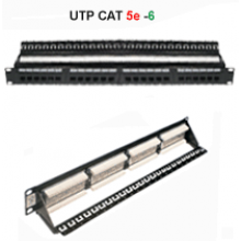 PATCH PANEL 24P UTP CAT 5E (1U) JE CENTRAL